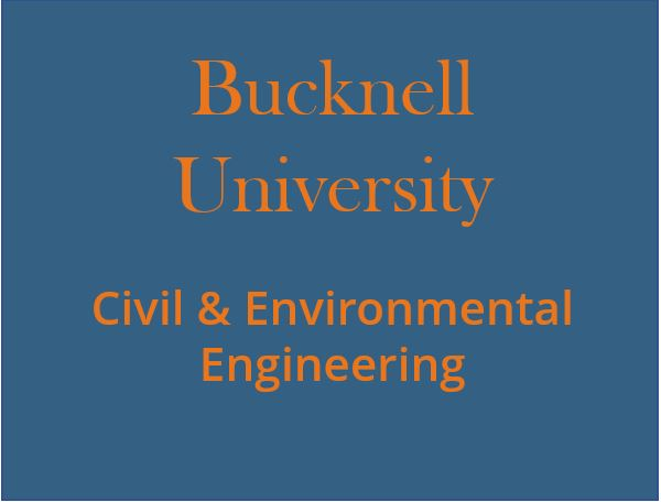 Engineering School or University Bucknell Civil & Environmental Engineering logo